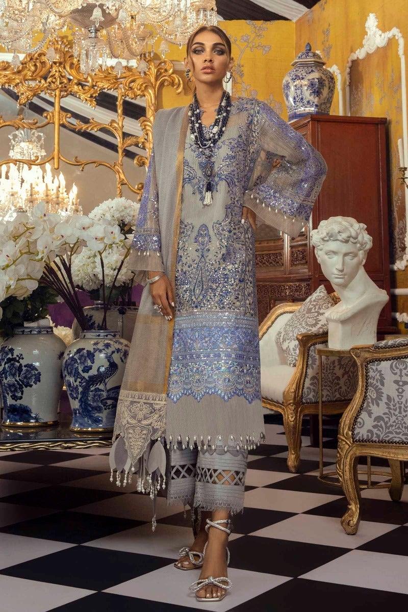 Sana Safinaz M212-001B-CV Luxury Muzlin