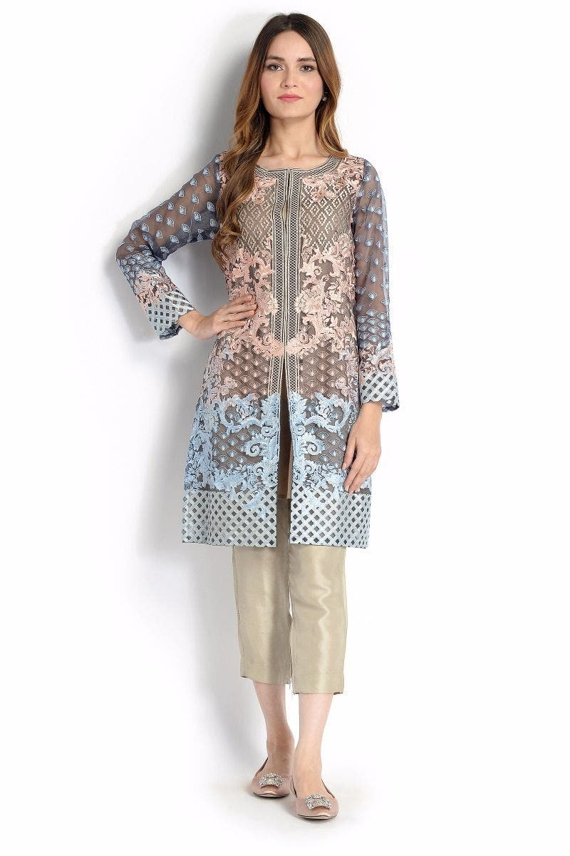 SALLY K Sana Safinaz Chic Ready to Wear Winter Dresses 2017