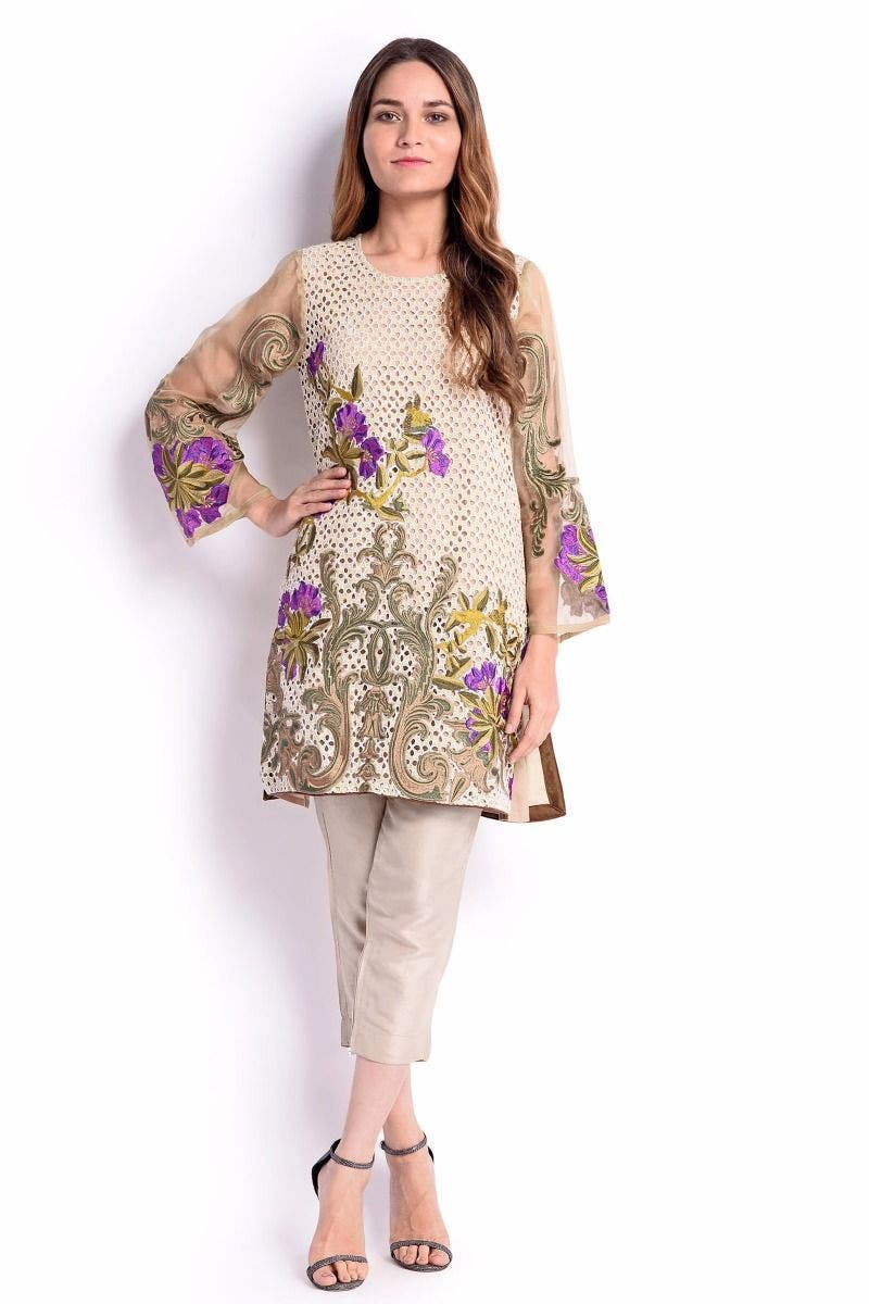 Arena Sana Safinaz Chic Ready to Wear Winter Dresses