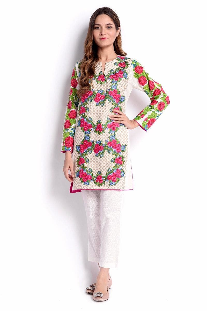Unconventional Sana Safinaz Chic Ready to Wear Winter Dresses
