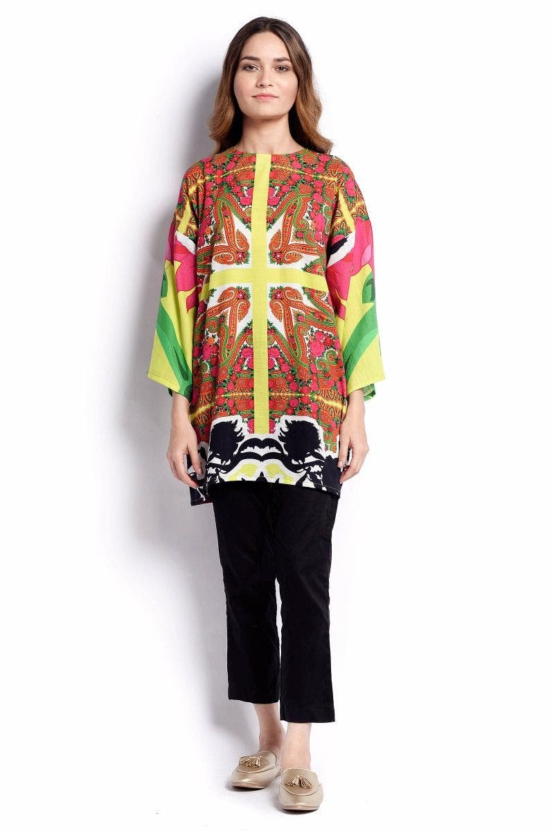 Valley On Foot Sana Safinaz Chic Ready to Wear Winter Dresses