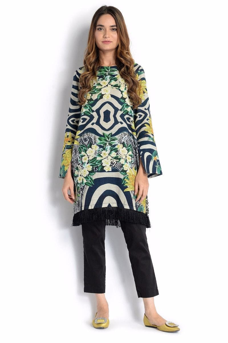 Aroma Sana Safinaz Chic Ready to Wear Winter Dresses