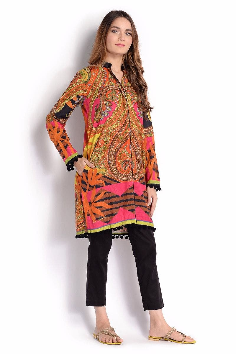 Prisma Sana Safinaz Chic Ready to Wear Winter Dresses