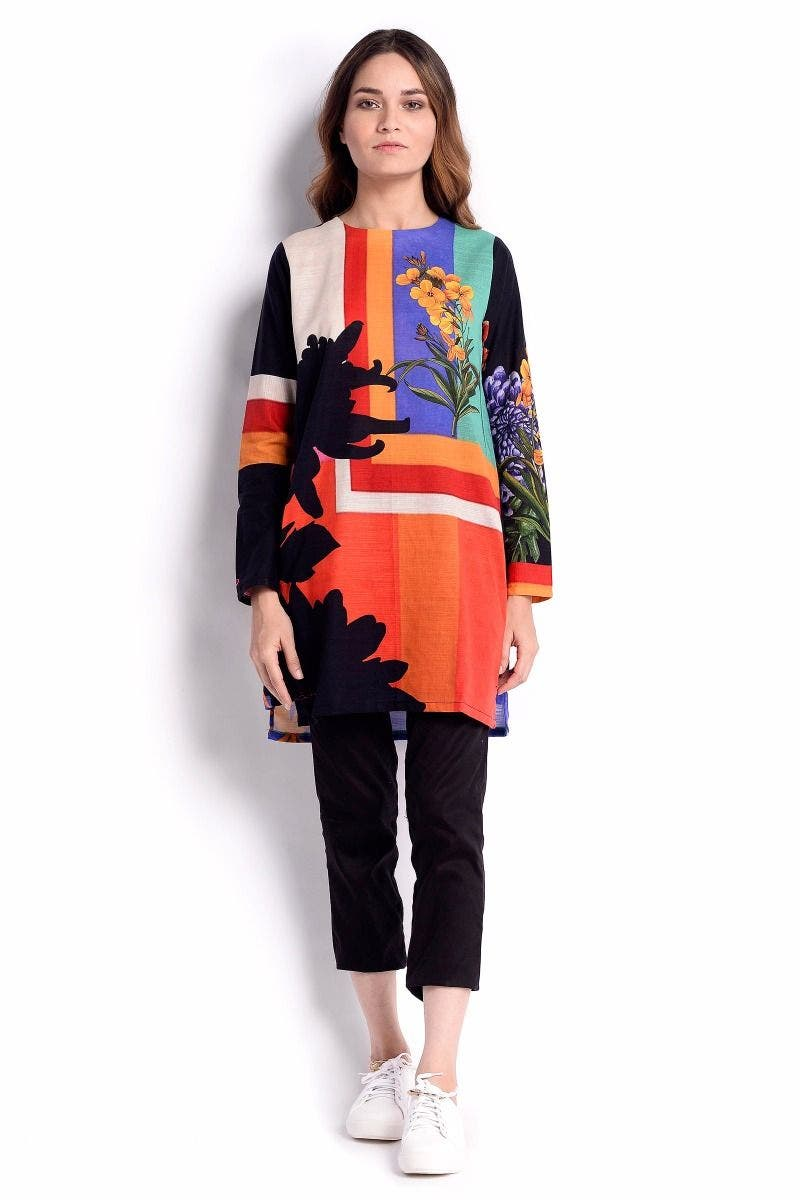 RAIN-BO Sana Safinaz Chic Ready to Wear Winter Dresses