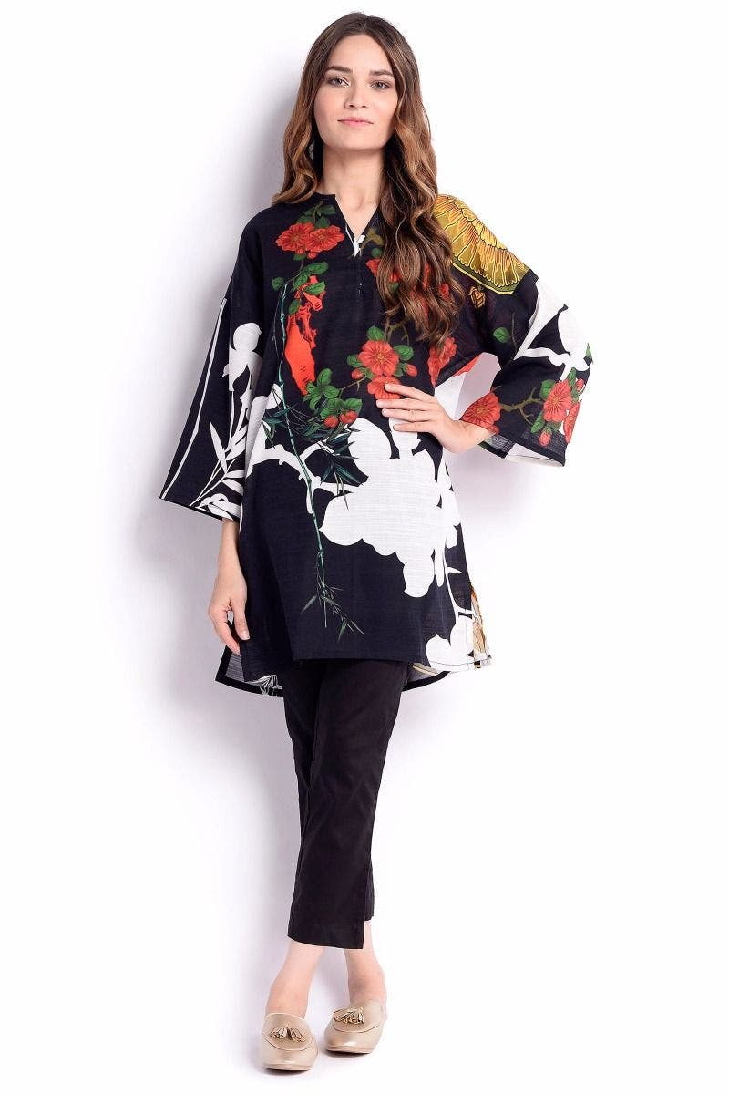 CLAZONA Sana Safinaz Chic Ready to Wear Winter Dresses