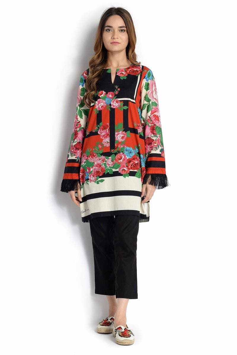 Sugar Mama Sana Safinaz Chic Ready to Wear Winter Dresses