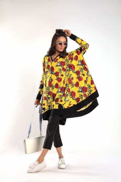 Floral Yellow DIY Collection by Sana Safinaz