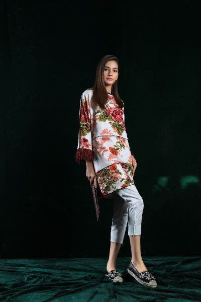 White Floral DIY Collection by Sana Safinaz